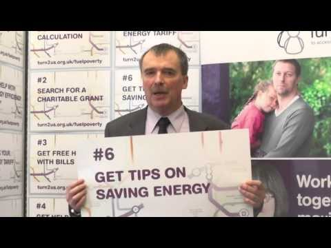 Alan Whitehead, MP supports Turn2us Fuel Poverty campaign