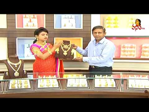 Latest Jewelry Collection of CZ Necklace and Haram Sets   Andham Abharanam   YouTube 360p