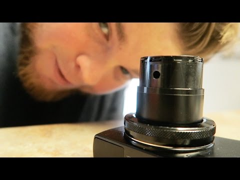 You Ruined It! Broken Canon G7x Lens Error!