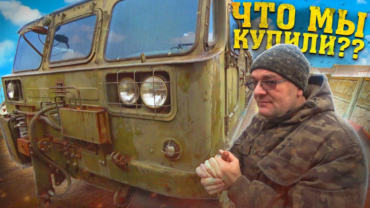 Download ЭТО танк!! Обзор гусеничного тягача ГЭТ-С(ТГ-4) на базе Атс-59 с ХРАНЕНИЯ!!!