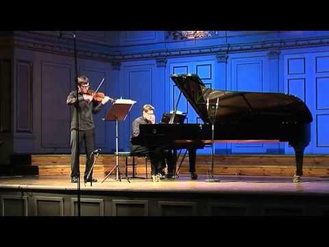 Anders Nilsson: Violin sonata 3rd. mov.