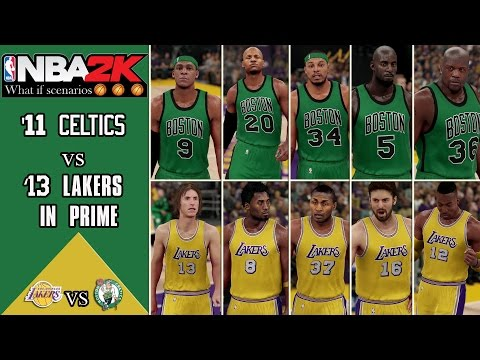NBA2K what if scenarios: What if the 2011 Celtics played the 2012 Lakers in their primes?