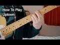 watch he video of Uptown - Prince Guitar Tutorial