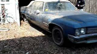 1972 buick centurion garage find