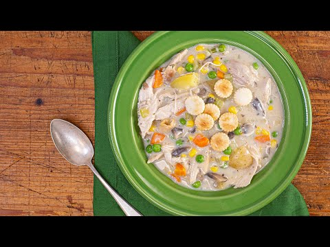 How To Make Chicken Pot Pie Soup By Carson Kressley