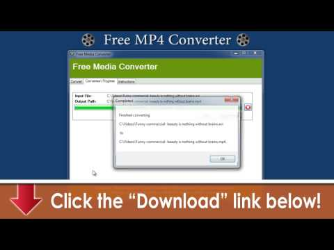Free MP4 Converter & All Formats -- Free Download