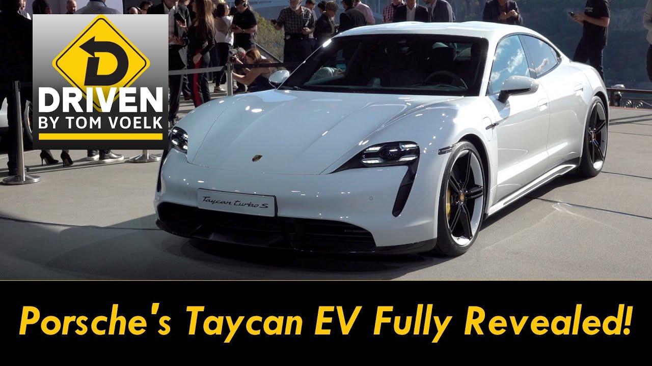 Porsche Taycan EV Fully Revealed To Take On Tesla!