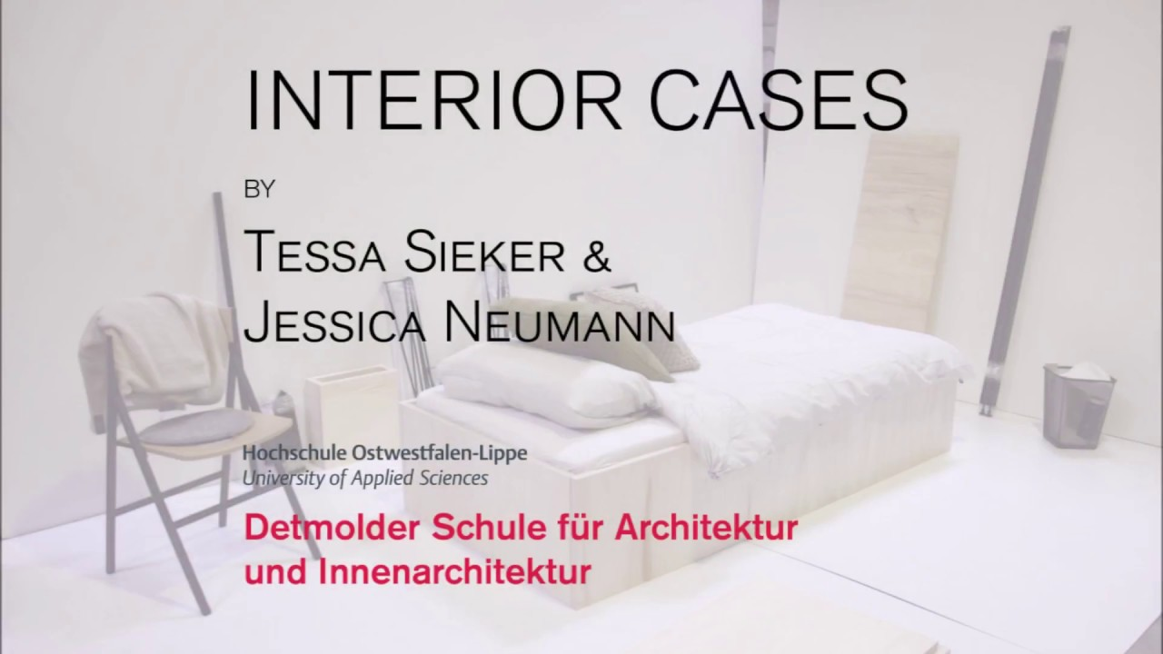 Innenarchitektur Ostwestfalen Lippe Making Of Interior Case Work Sleep