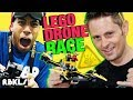 LEGO Drone Race w/ KING OF RANDOM! – REBRICKULOUS