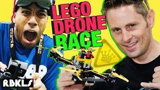 LEGO Drone Race w/ KING OF RANDOM! – REBRICKULOUS