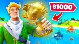 Mythic Goldfish Hunt $1000 Bounty! (Join The Hunt)