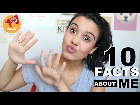10 FACTS ABOUT ME (EM INGLÊS COM LEGENDA)