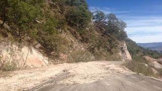 Federación deja inconclusas obras carreteras en el Mezquital: Mendoza