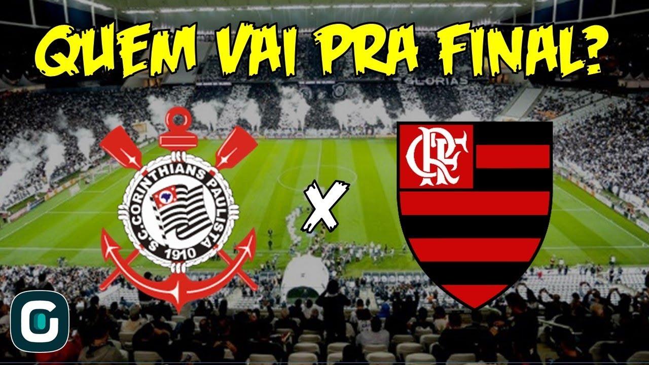 Pré Jogo Corinthians X Flamengo Duelo De Gigantes Na Arena 260918
