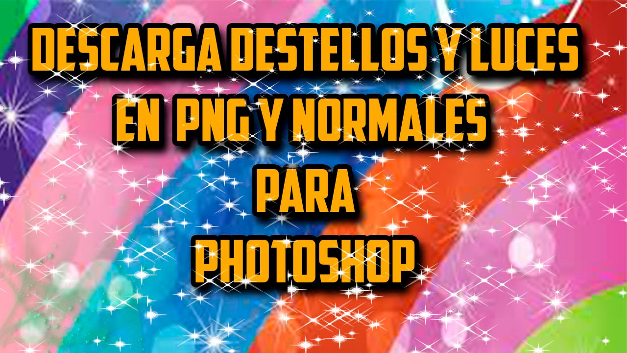 Poner destellos de luz en photoshop download