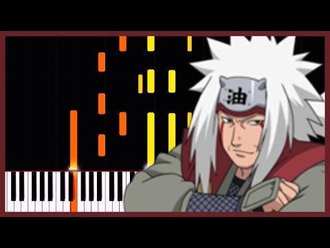 The Guts To Never Give Up - Naruto Shippuden [Piano Tutorial] (Synthesia) // Narutee