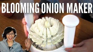 Download Great American Steakhouse ONION MAKER Product TEST | Emmy Gets New Glasses Mp3 and Videos