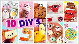 ТОП 10 DIY's ЕДА И НАПИТКИ Для Кукол и Брелки Своими Руками Food & Drinks