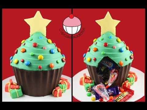 Chocolate Christmas Tree PINATA! No Bake Xmas Dessert Recipe By  - Christmas Tree Pinata
