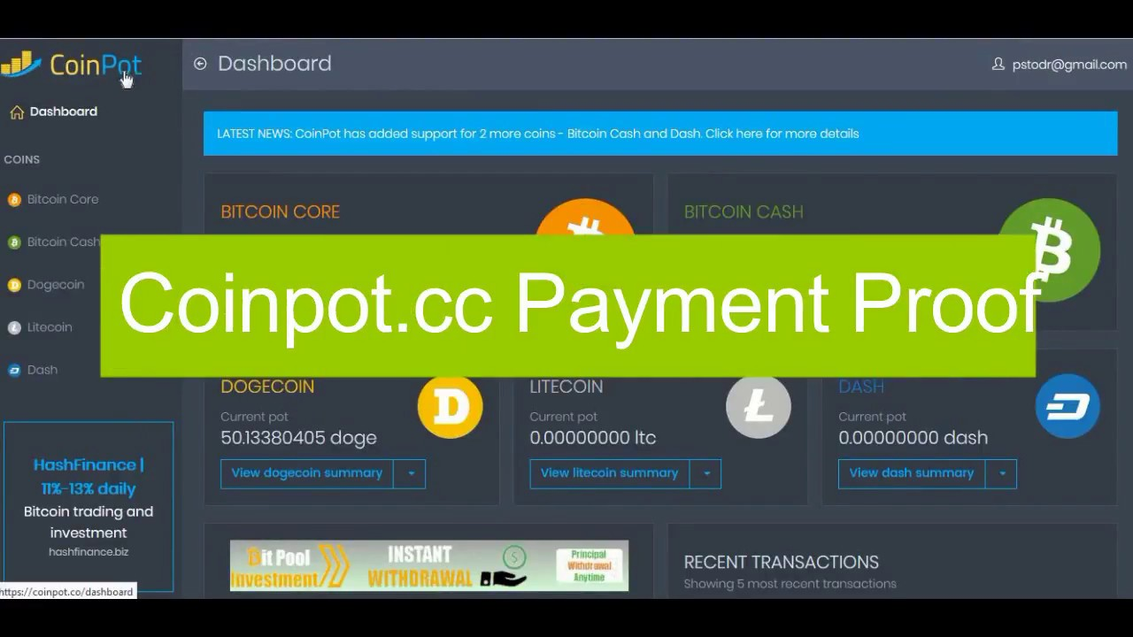 Coinpot Bitcoin Mining Not Working How To Add Xenon Coin In Ethereum
