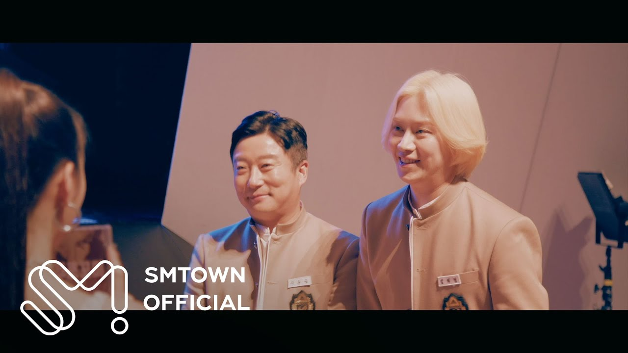 Imagini pentru Super Junior's Heechul x Lee Soo Geun tease 'White Winter' feat. ITZY MV teaser & images