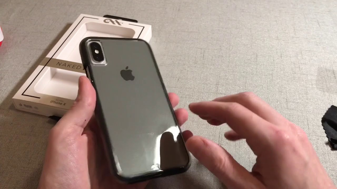ea3b6d0cf2e Case-Mate Naked Tough Case For iPhone X Unboxing and Review - YouTube
