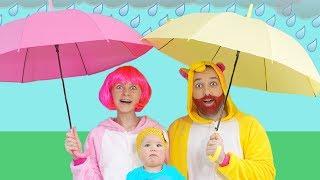 Rain Rain Go Away Song   동요와 아이 노래   어린이 교육