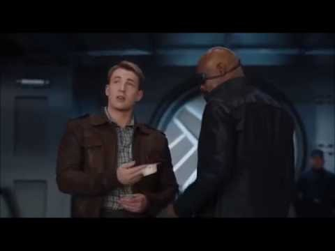 The Avengers: Captain America loses bet to Nick Fury
