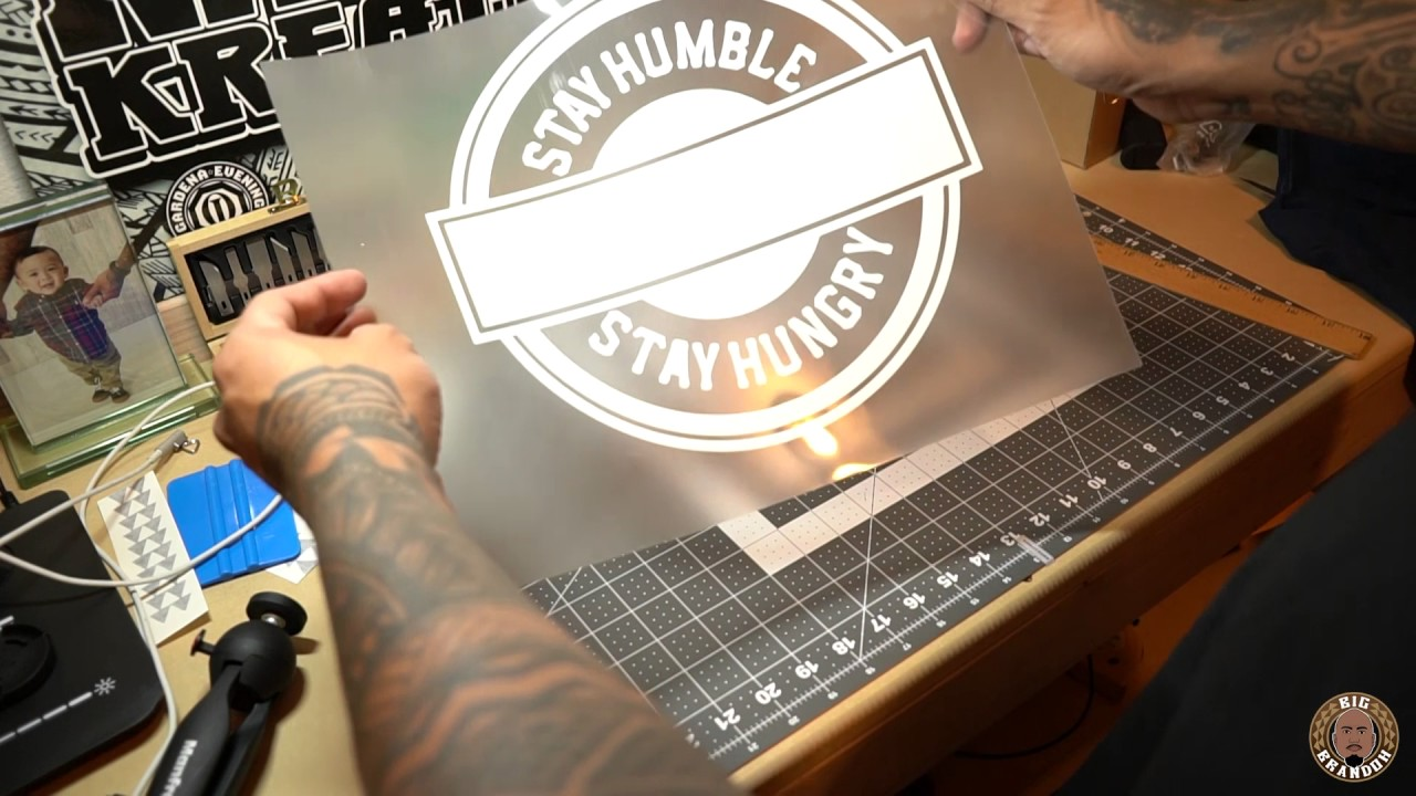 How To Start A Clothing Brand Using A Vinyl Cutter And