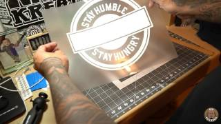 How To Start a Clothing Brand - Using a Vinyl Cutter and Heat Press