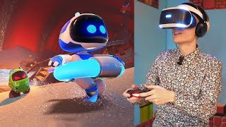 INSIDE THE BELLY OF THE BEAST | Astro Bot: Rescue Mission (PSVR Gameplay) Part 5