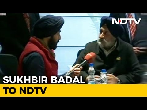 Sukhbir Badal And Aloo Ka Paranthas In Rapid Fire Interview
