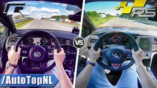 Download Video VW Golf R 2018 vs 2018 Renault Megane RS   0-250km/h ACCELERATION SOUND & AUTOBAHN POV by AutoTopNL MP3 3GP MP4