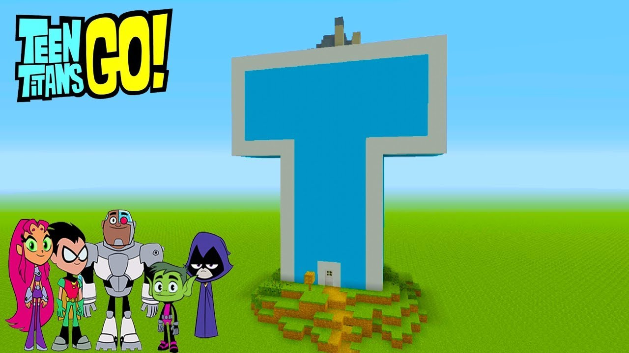 "Minecraft Tutorial: How To Make the Teen Titans Go! Titans Tower ""Teen Titans Go!"""