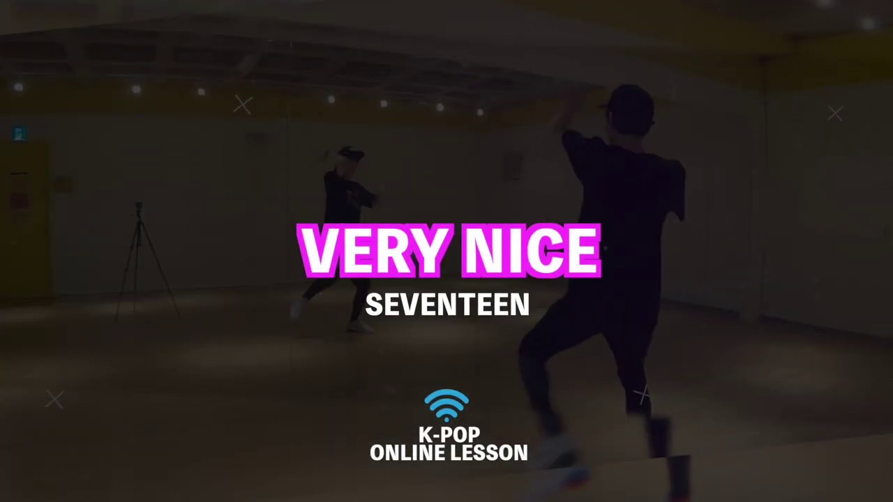 SEVENTEEN「Very Nice」オンラインレッスン動画をアップしました!【K-POPダンススクール 東京】