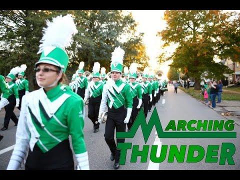 Marshall University Marching Thunder   Homecoming Parade 2017