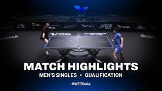 Mizuki Oikawa vs  Paul Drinkhall | WTT Star Contender Doha 2021 | Men's Singles | QUAL Highlights