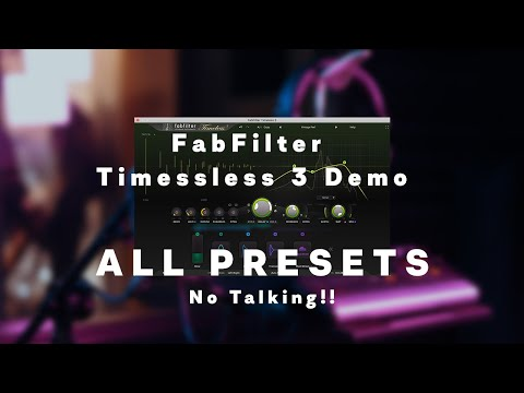 Fabfilter Timeless 3 Delay Demo, No Talking!! Best Delay in the Market??Subs/cc Available.