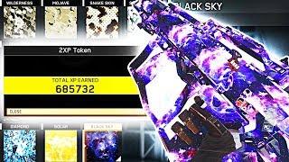 BLACK SKY UNLOCKED.. OVER 685,000 XP EARNED! (Infinite Warfare Black Sky Camo)