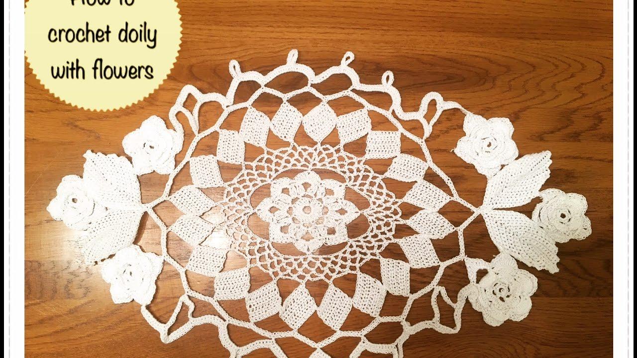 Youtube Crochet Flowers Patterns