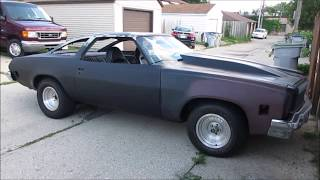 1973 Chevrolet Chevelle SS Startup and Test Drive