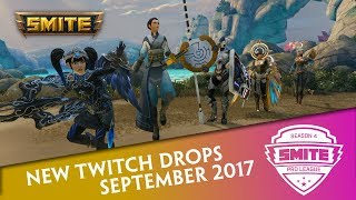 SMITE Pro League - Twitch Drops for September 2017