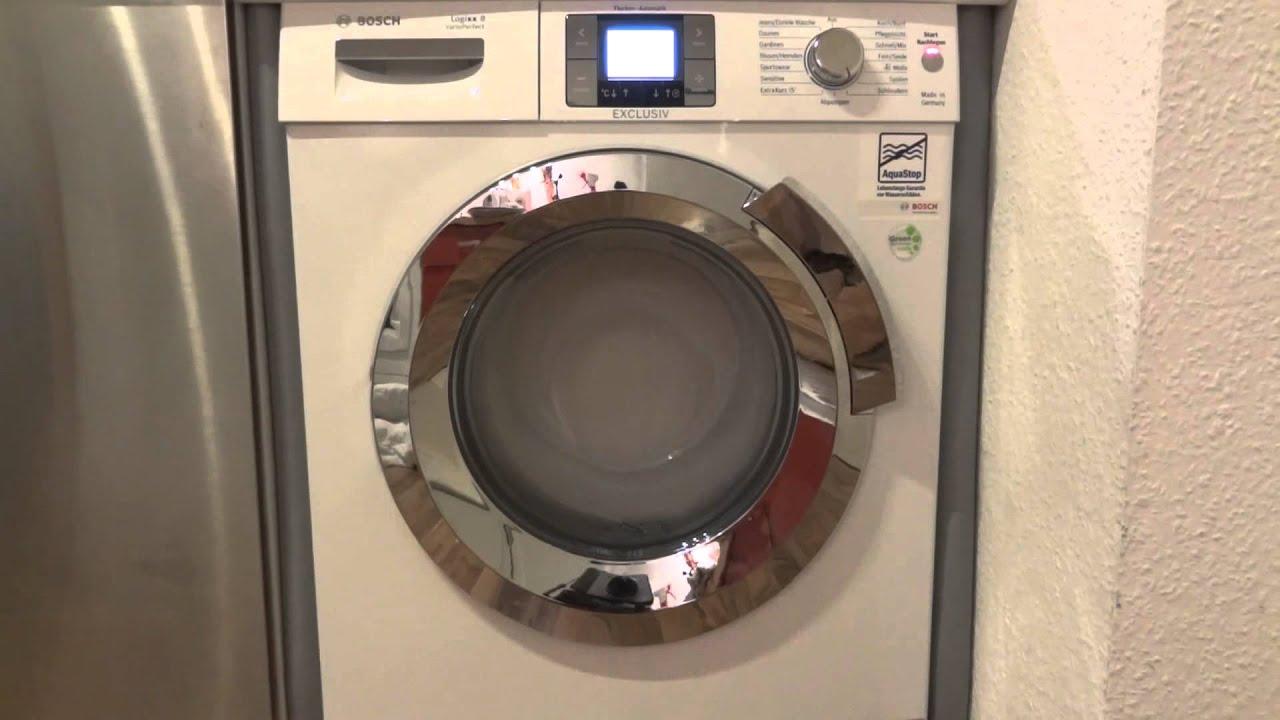 Bosch Logixx 8 WAS 32793 Vario Perfect Exclusiv Test