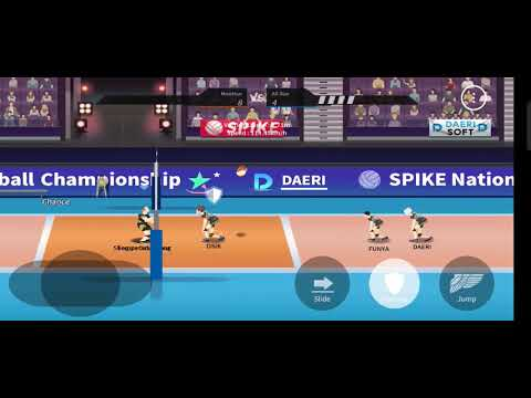 I Finally Beat Stage 19 !!   The Spike - Volleyball Story  