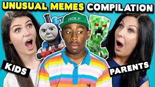 Unusual Memes Compilation | Parents & Gen Z React