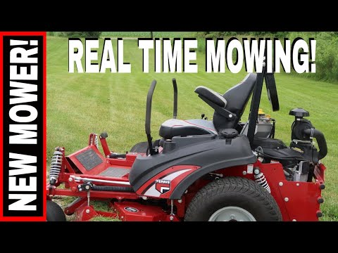 """real-time-mowing-with-the-new-ferris-is-3200z-61""""-ztr!"""