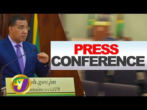 Jamaican Gov't Digital Press Conference - July 8 2020