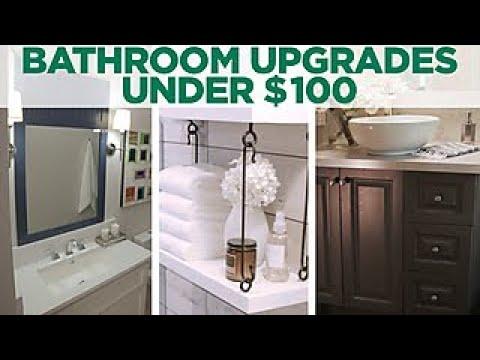 3 Bathroom Upgrades Under $100 - HGTV