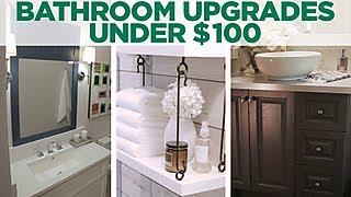 NEWFACE MAGAZINE LV MEDIA FEATURING: 3 Bathroom Upgrades Under $100  TIFFANY BROOKS STYLE - HGTV