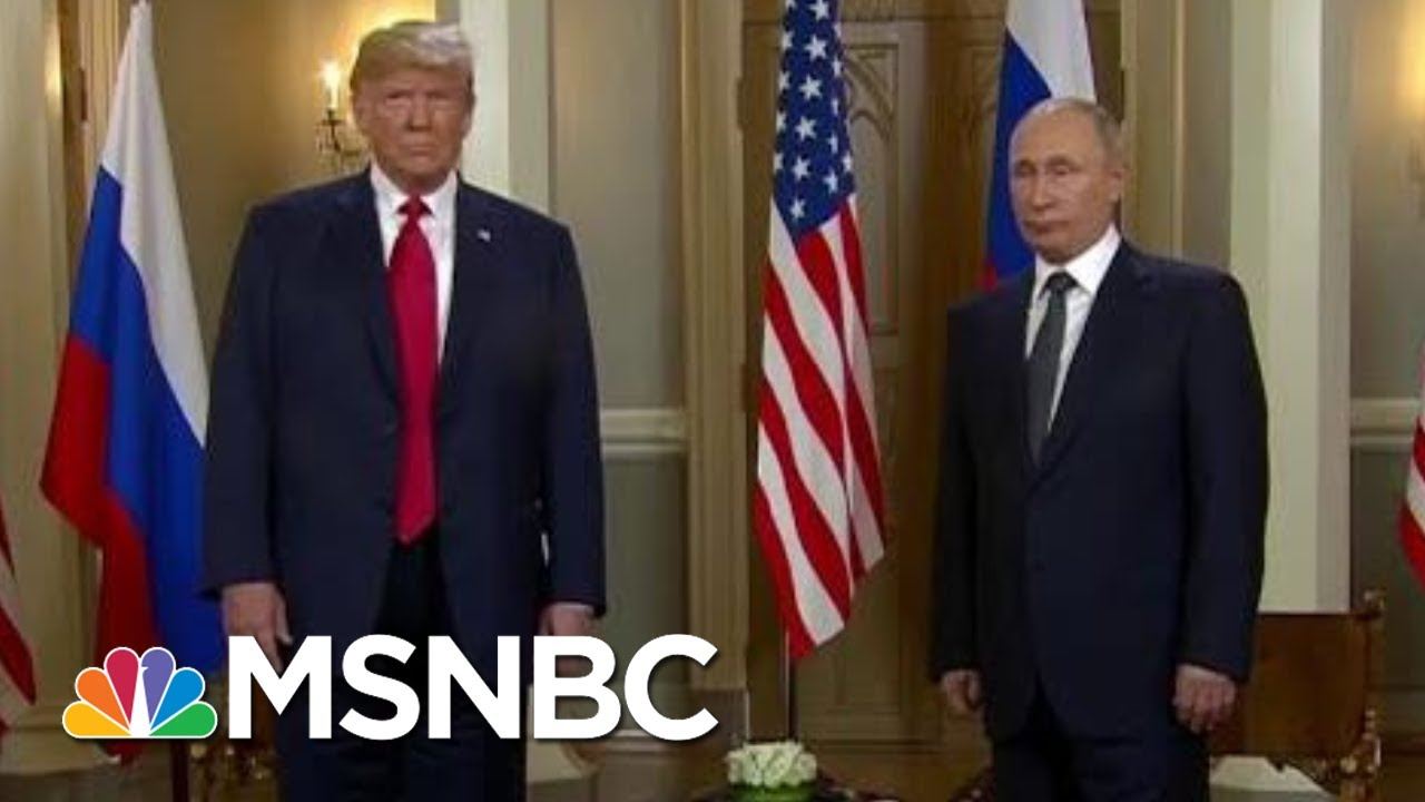 What A Second Meeting With President Vladimir Putin Means For The U.S. | Velshi & Ruhle | MSNBC